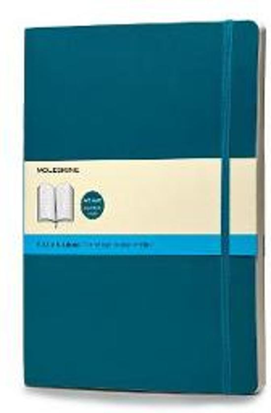 Moleskine Notebook Extra Large Dotted Underwater Blue Soft
