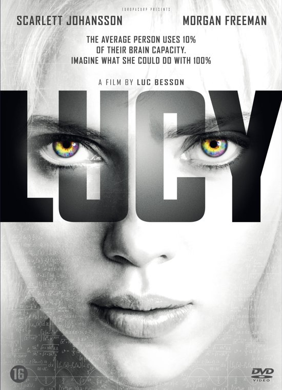 DVD cover van Lucy