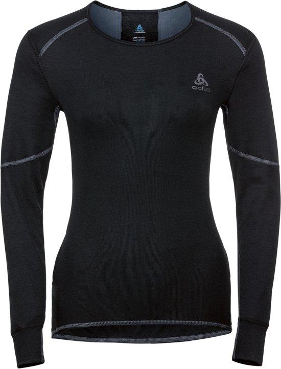 Odlo Bl Top Crew Neck L/S Active X-Warm Dames Thermoshirt - Black - Maat L