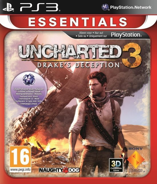 Uncharted 3: Drake's Deception (Essentials) /PS3 kopen