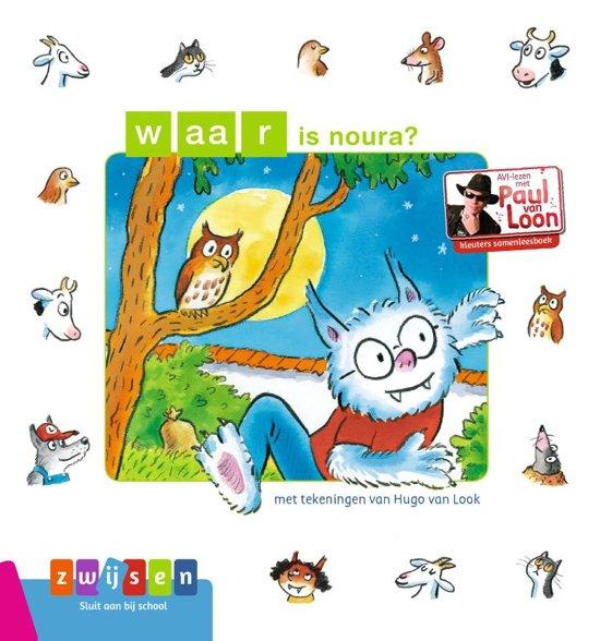 Boek cover Waar is Noura? van Paul van Loon (Hardcover)