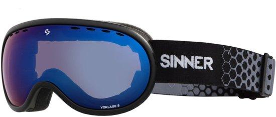 Sinner Vorlage S Unisex Skibril - Zwart