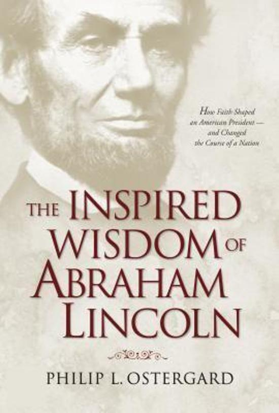 Bol Com The Inspired Wisdom Of Abraham Lincoln Philip L border=