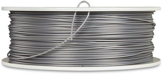 Verbatim 55275 3D Printer Filament PLA 1.75mm 1kg Zilver-Metaal Grijs