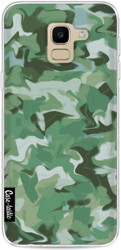 Casetastic Softcover Samsung Galaxy J6 (2018) - Army Camouflage