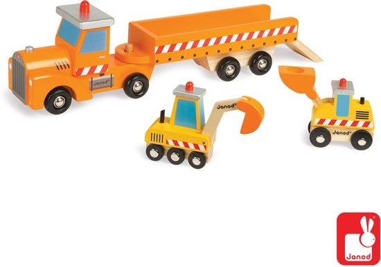 Janod Vrachtwagen - bouwplaats