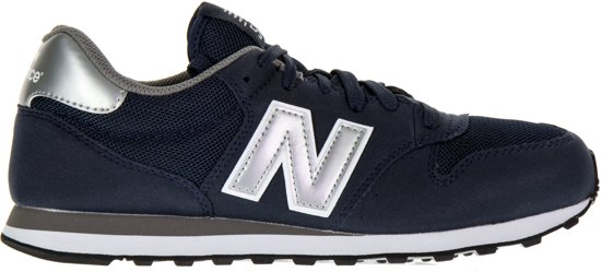 new balance dames zilver
