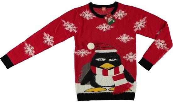 Foute Kersttrui Pinguin.Bol Com Rode Kersttrui Pinguin Voor Volwassenen Foute
