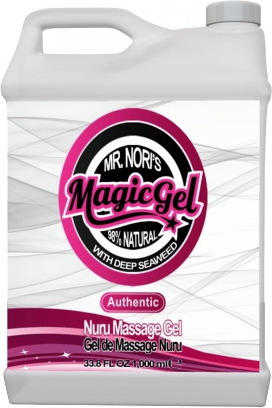 Nuru MagicGel Authentic 1000 ml. - Gels