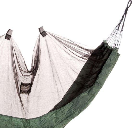 Fosco Hangmat Amazon Hiking incl. muskietennet - legergroen