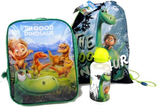 cf433fb7a2d De Goede Dinosaurus Rugzak + Zwem tas + Drinkbeker Peuter Kleuter School  Super leuk