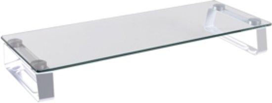 LogiLink BP0027 flat panel bureau steun 81,3 cm (32'') Metallic, Transparant