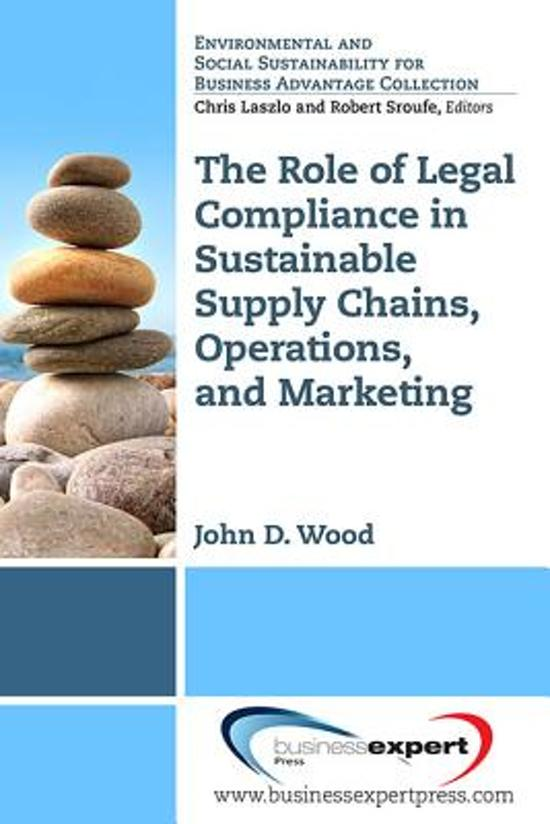 SUSTAINABLE SUPPLY CHAINS, OPE