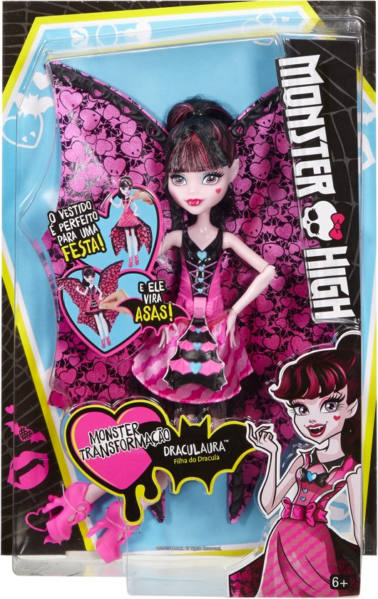 Monster High Ghoul-to-Bat Draculaura
