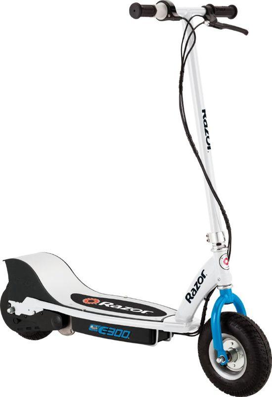 8bc6f953ae0703 bol.com   Razor E300 Step Elektrisch white/blue - Elektische Step ...