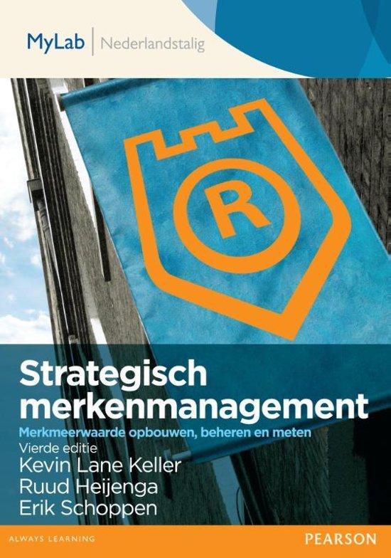 Strategisch merkenmanagement toegangscode MyLab Nederlandstalig