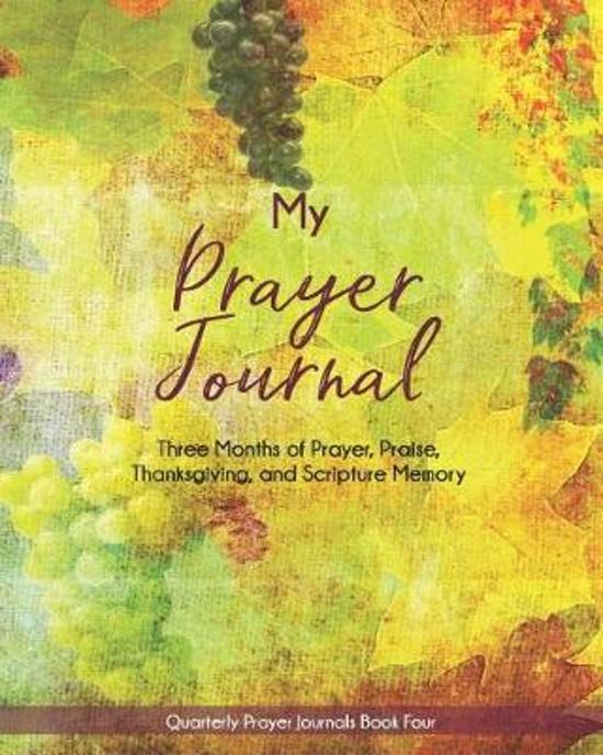 My Prayer Journal (Book Four)