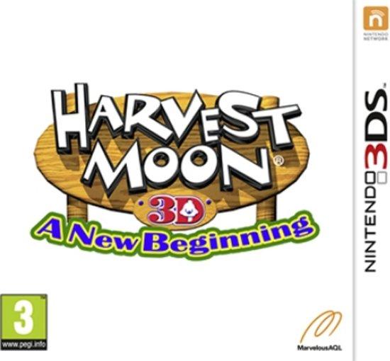 Harvest Moon 3D: A New Beginning - 2DS + 3DS kopen
