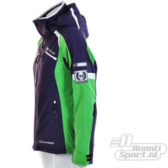 Exxtasy Sportjas 38 Maat Dames Paars;groen;wit Brookside rSFqPr