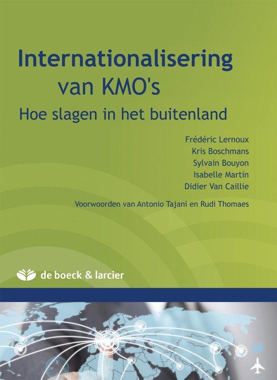 Internationalisation des PME - Internationalisatie van KMO's
