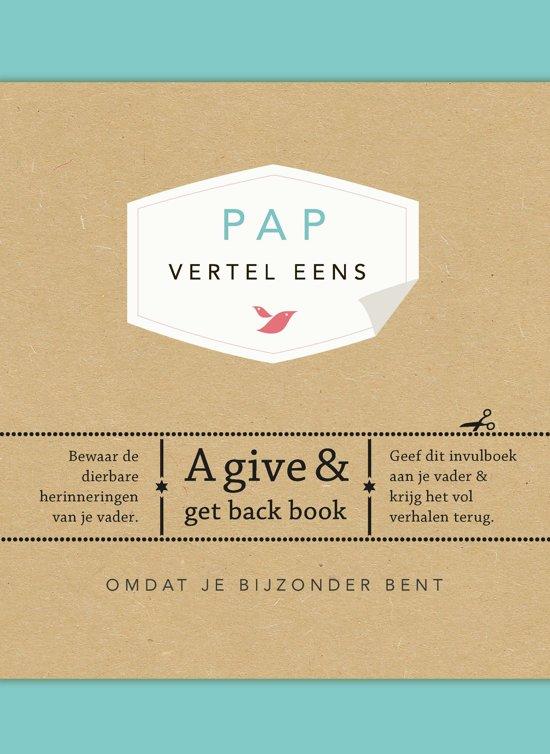 Boek cover Vertel eens - Pap, vertel eens van Elma van Vliet (Hardcover)