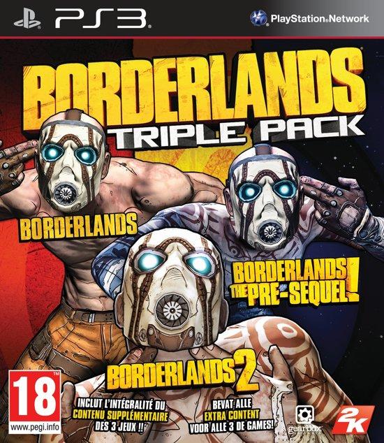 Borderlands Triple Pack - PS3