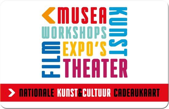 Nationale Kunst & Cultuur cadeaukaart - 110 euro
