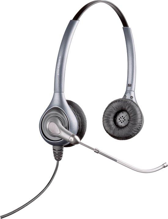 Plantronics HW361 SupraPlus schnurgebundenes Headset inkl. USB-Adapter, binaural