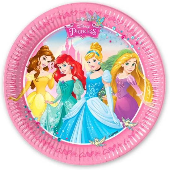 Welp bol.com   Disney Prinsessen Borden Versiering - 8 stuks, Disney VU-43