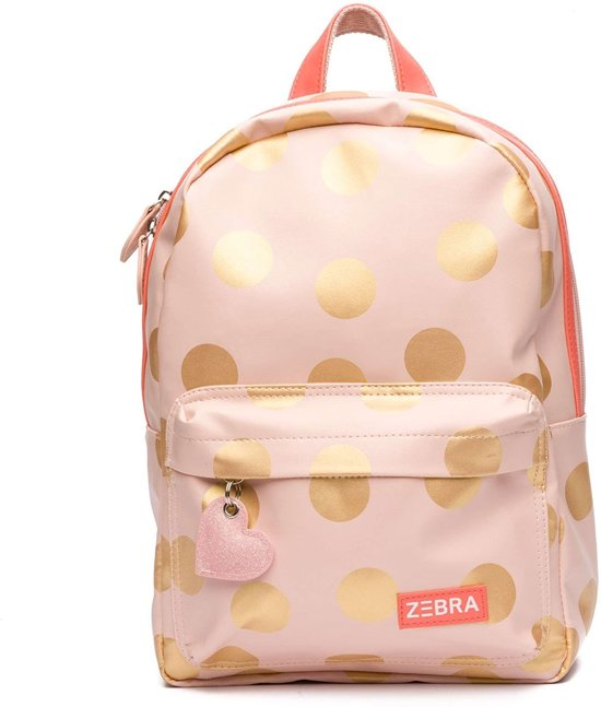 ebd7043b48d Zebra Trends Kinder Rugzak M Golden Dots