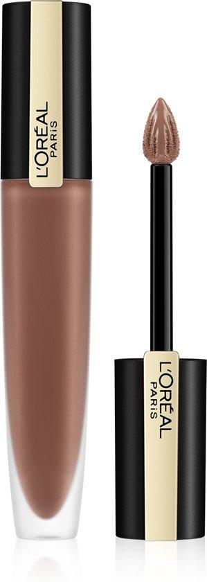 L'Oréal Paris Rouge Signature Lippenstift  - 117 I Stand - Nude - Matte Vloeibare Lipstick