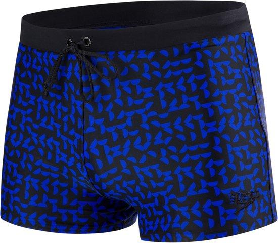 fe92da4ab7f09f Speedo E10 Valmiltion Aquashort Zwembroek - Maat 38 - Mannen - blauw zwart