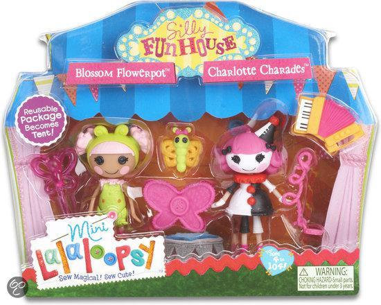 Mini Lalaloopsy 2 pack- Silly Fun House - Charlotte and Blossom