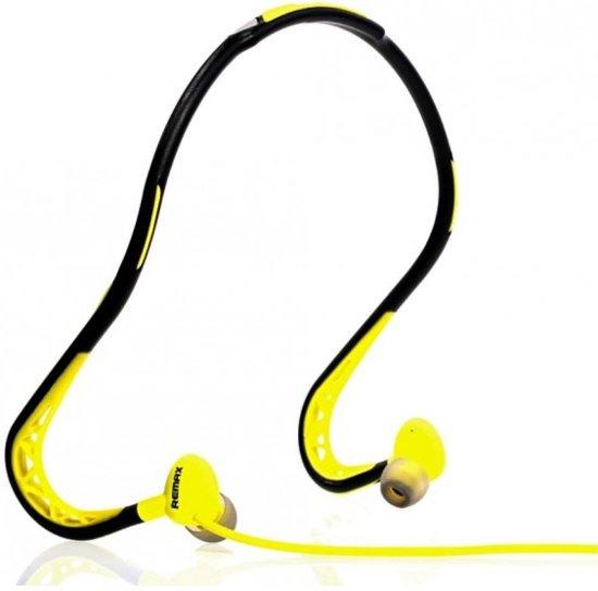 Remax Sport Headset - In-Ear-oordopjes - Yellow