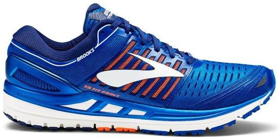 Brooks Transcend 5 blauw hardloopschoenen heren