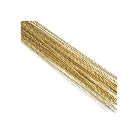 Floral wire / bloemdraad - goud - Culpitt
