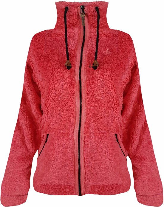 Roze Dames 50 Bjornson Vest Elin Maat Fleece Coral nqxwY0wpI