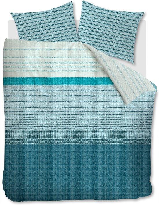 Beddinghouse Java - Dekbedovertrek - Lits-jumeaux - 240x200/220 cm - Blauw
