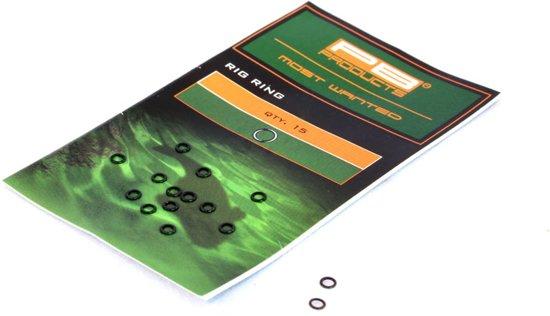 PB Products - Round Rings | 4mm | 15 Stuks - Zwart