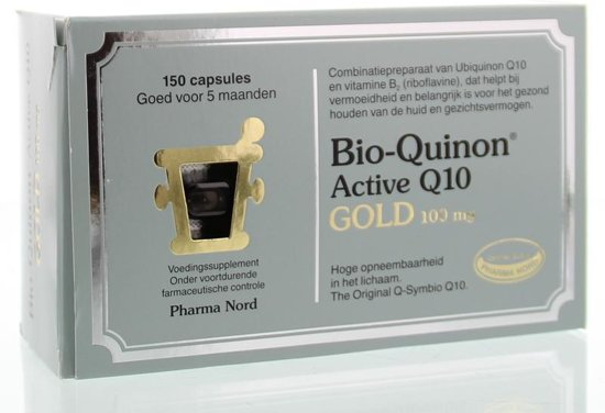 Bio-Quinon Q10 Gold 100 mg - 150 capsules - Voedingssupplement