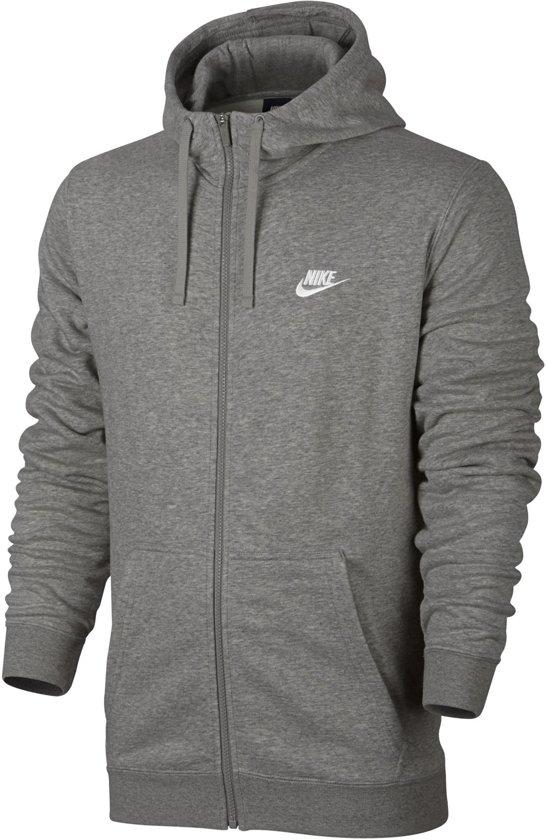 Nike Nsw Hoodie Fz Ft Vest Heren - Grijs