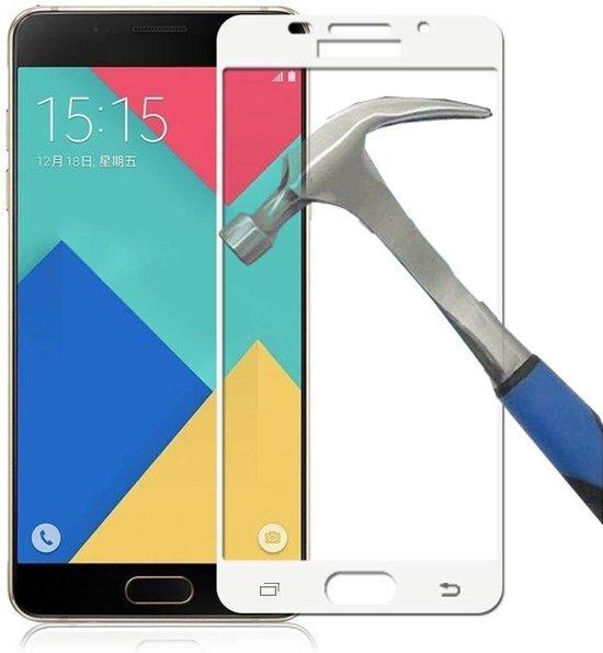 Teleplus Huawei P9 3D Full Shutdown Glass Screen Protector White