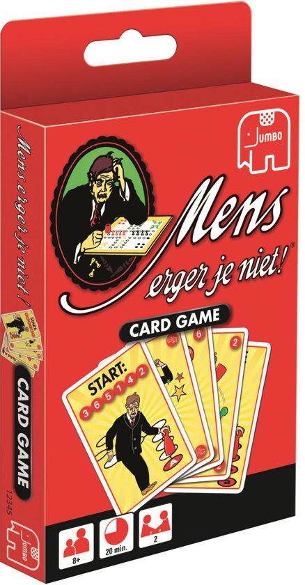 Afbeelding van het spel Mens Erger Je Niet - Kaartspel