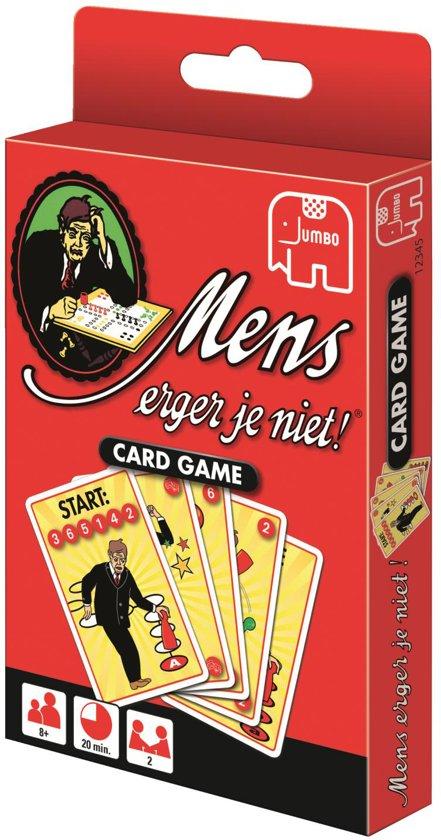Thumbnail van een extra afbeelding van het spel Mens Erger Je Niet - Kaartspel