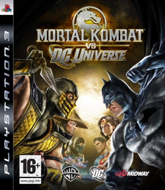 Mortal Kombat vs DC Universe - Playstation 3