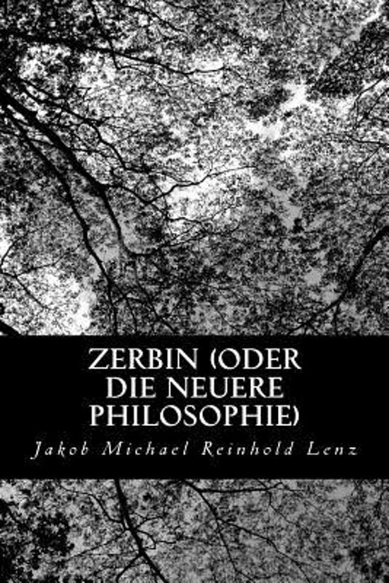 Zerbin (Oder Die Neuere Philosophie)