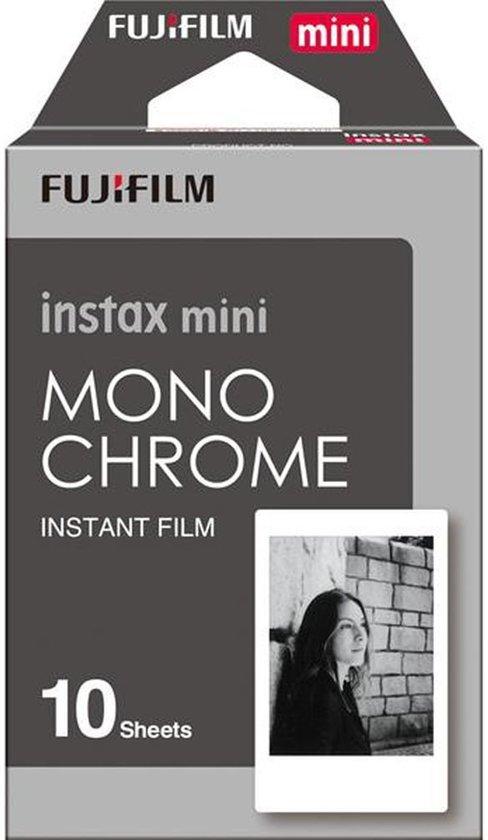 Fujifilm Instax Film mini - Mono chrome - 10 stuks