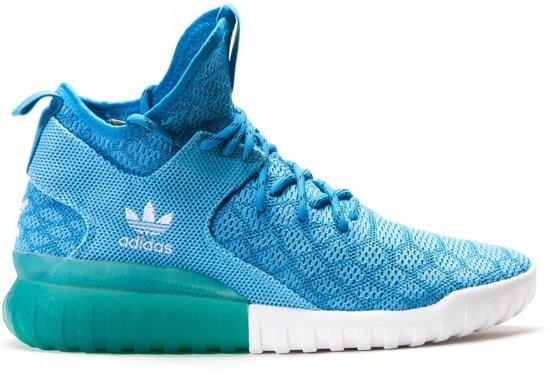Adidas Tubular X Prime Knit Heren Blauw Maat 44 2/3