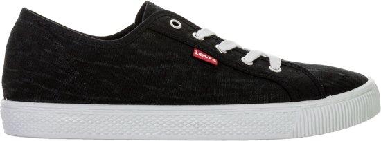Levi Malibu Herensneakers Sneaker wit Zwart Maat 41 Mannen wzH7q