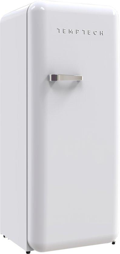 Temptech HRF330RW retro koelvriescombinatie - 260 liter koel/ 21 liter vries